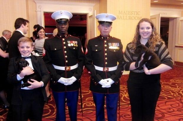 Nicholas Weiskopf, Sgt. Raphael Taylor, Cpl. Eric Morales, Isabella Weiskopf