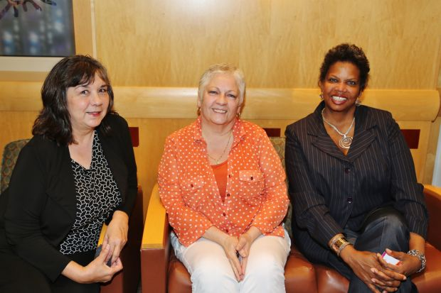 Kim Laurance, Mickey Ennis, Andrea Cole