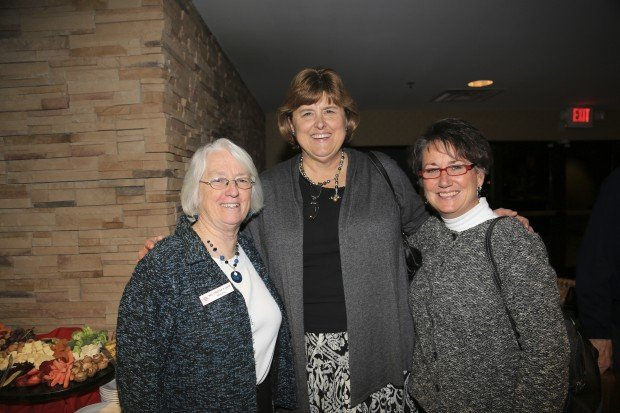 Christina Cheak, Mary Jane Driscoll, Maureen DePriest