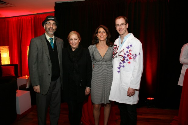 Dr. David and Robin Gutmann, Laura and Dr. Ryan Fields