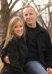 Ashley Wachter and Adam Schultz