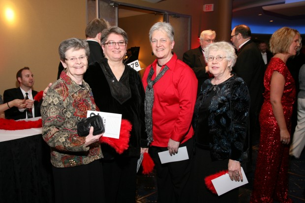 JoAnne Geary, Mary Sue Rosenthal, Alison Gee, Mary Basler