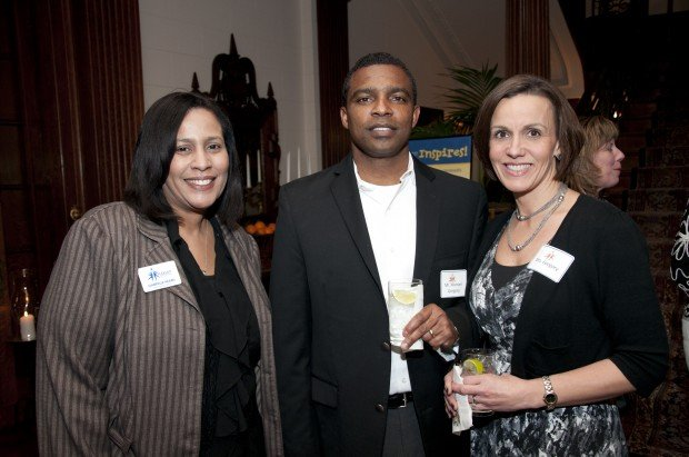 Gabrielle Hearn, Michael and Kathleen Gregory