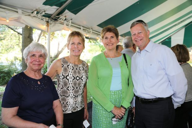 Gloria Snyder, Joan Fernandez, Merry and James Mosbacher