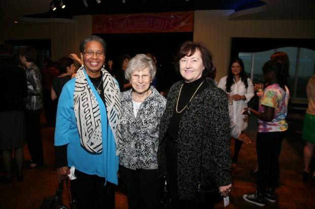 Sr. Barbara Moore, Sr. Monica Kleffner, Sr. Anne Kelly