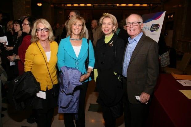 Susie Kravetz, Nancy Firestone, Sue Wallach, Leon Kravetz