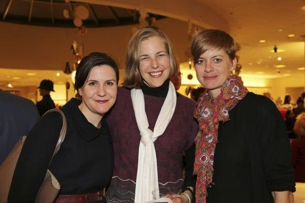 Kelly Shindler, Gretchen Wagner, Kristina VanDyke