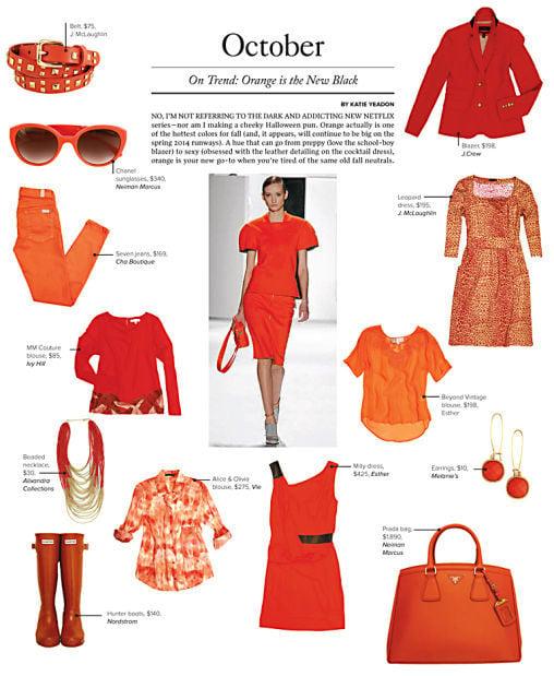 On Trend: Orange