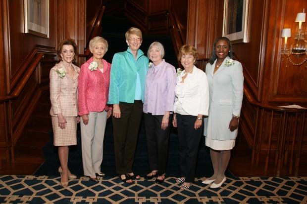 Peggy Ritter,  Karen Goodman, Joan Newman, Joni Karandjeff, Suzie Nall, Cheryl Polk