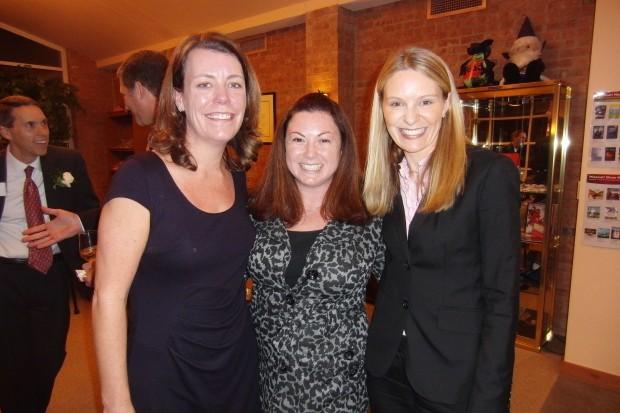 Karen Boyle, Melissa Kantrovitz, Laura Padousis