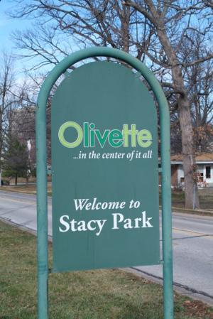 Stacy Park in Olivette