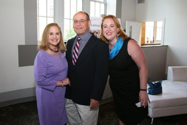 Barbara and Michael Shuman, Lisa Greening