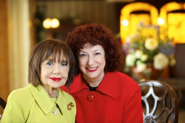 Cynthia Frohlichstein and her daughter, Betty