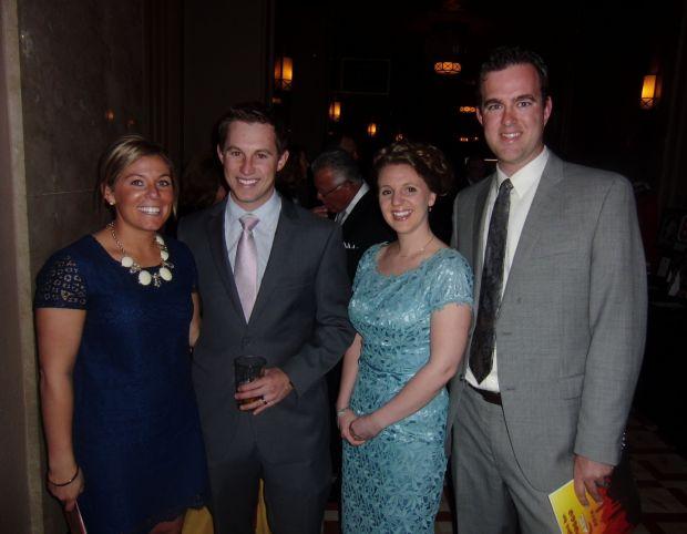 Nina and Ryan Murphy, Ally Favre, Matt Mayfield