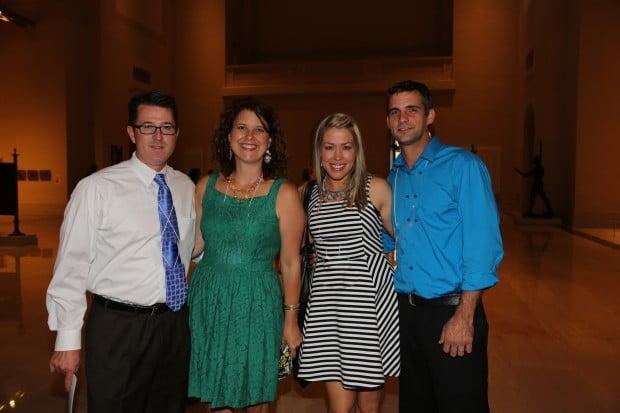 Matthew and Kristen Pfund, Sondra and Bryan Rotty