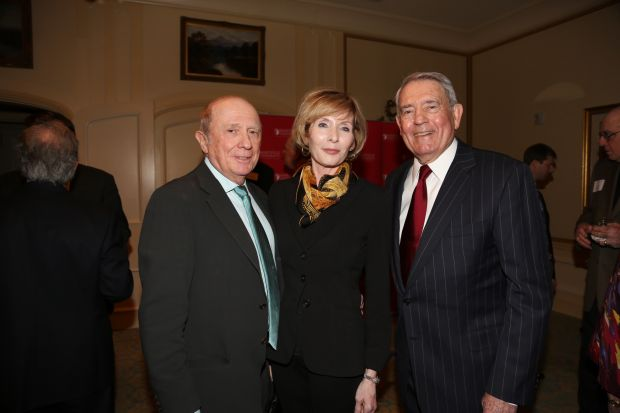 Al and Glenda Wiman, Dan Rather