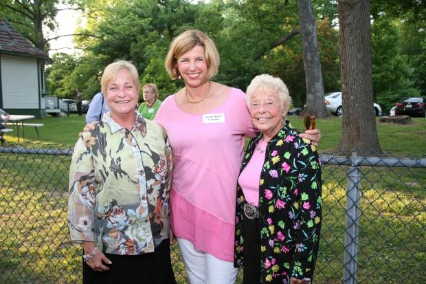 Nancy Suelflow, Trudy Busch Valentine, Anita Siegmund