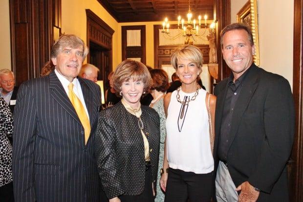 Gary and Sen. Jane Cunningham, Terri and Greg Wolfner