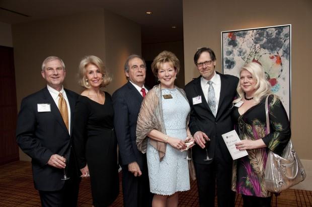 Mark Krieger, Susan and John Kilo, Joy Krieger, Joel and Debbie James