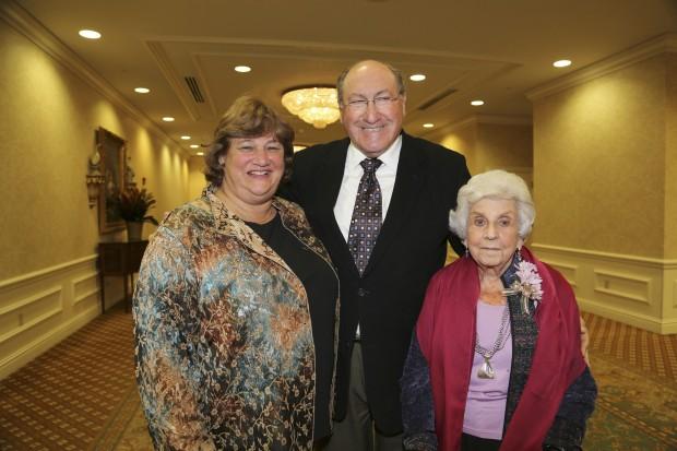 Cheryl and Lew Levey, Vivian Zwick