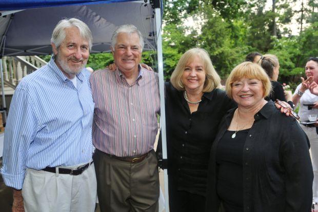 Mike Owens, David Grayson, Lyda Krewson, Linda Grayson