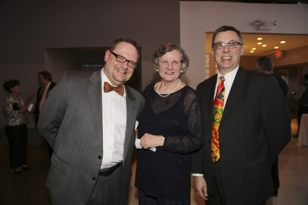 Mark Scholtz, Martha Letcher, David Erwin