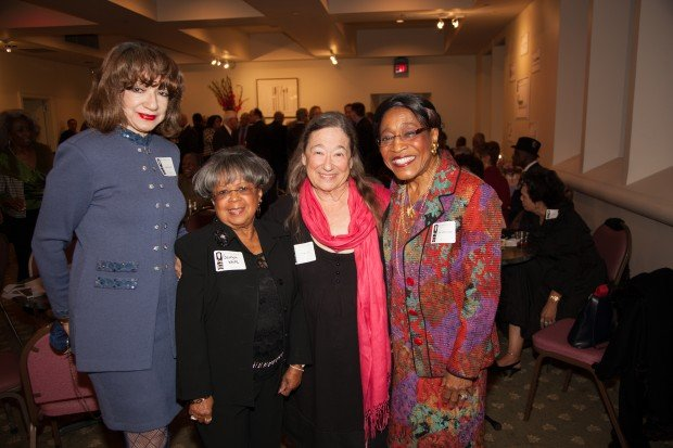 Jeanette Cofield, Georgia White, Lois Severin, Mary Polk