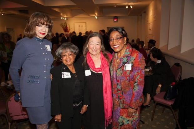 Jeanette Cofield, Georgia White, Lois Severin, Mary Polk