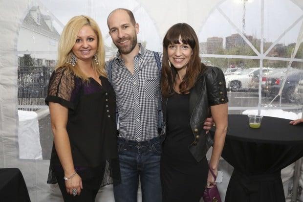Lindsey Dodd, Chris and Amy Plaisted