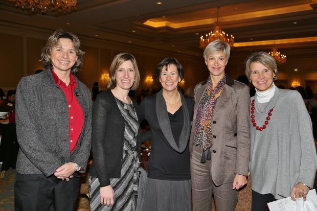Leanne White, Alison Berger, Nancy Lieberman, Beth McCarter, Christy Schlafly