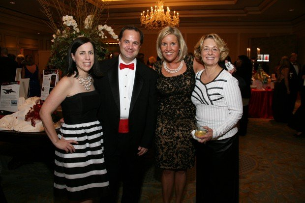 Carolyn and Brant Feltner, Kristin Seymour, Patti Reda