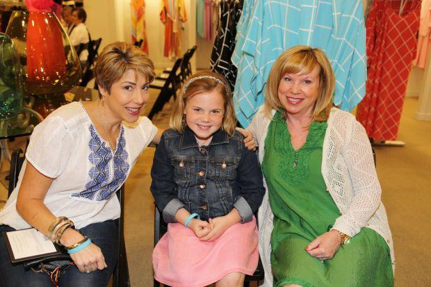 Cathy Austin, Grace Hanson, Judy Powell