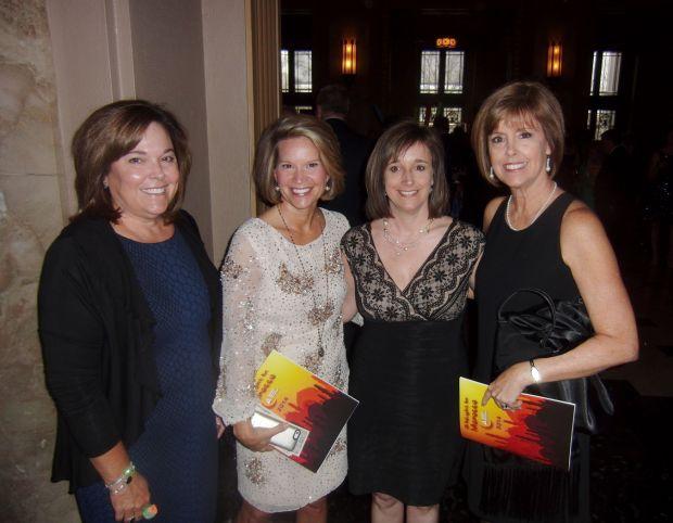 Mary Gipson, Brenda Haggan, Melisa Fox, Linda Vorwerk