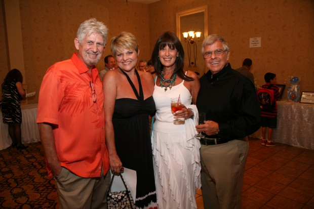 Billy and Kathy Bowers, Sheri and Al Finkelstein