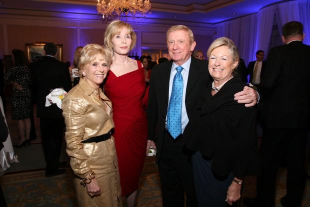 Susan Wedemeyer, Glenda and Al Wiman, Diana Francis