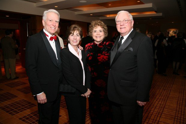 Craig and Sue Larson, Joan and Jim McGivney