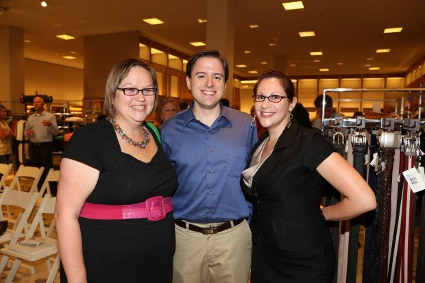 Ashley Wiehle, David Hanschu, Mary Foshage