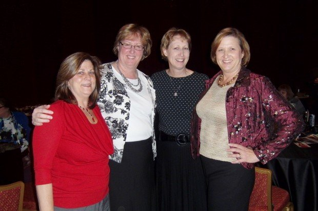 Carol Hoorman, Patty Wood, Sandy Meyer, Wendy Zick