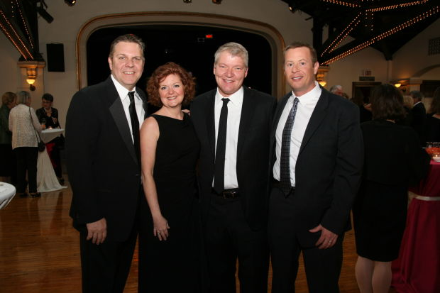 Kirk and Debbie McCullen, David Hoffman, Dr. Chris Marchioro