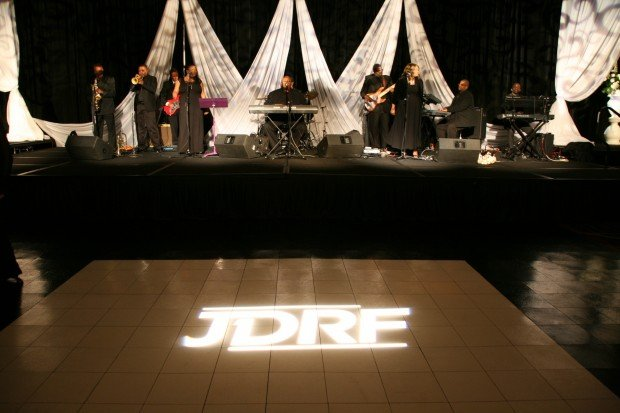 JDRF Black and White