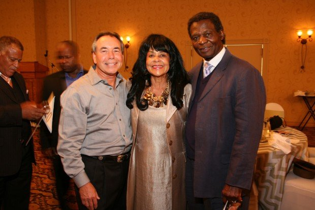 Wayne Kaufman, Jackie and Lou Brock