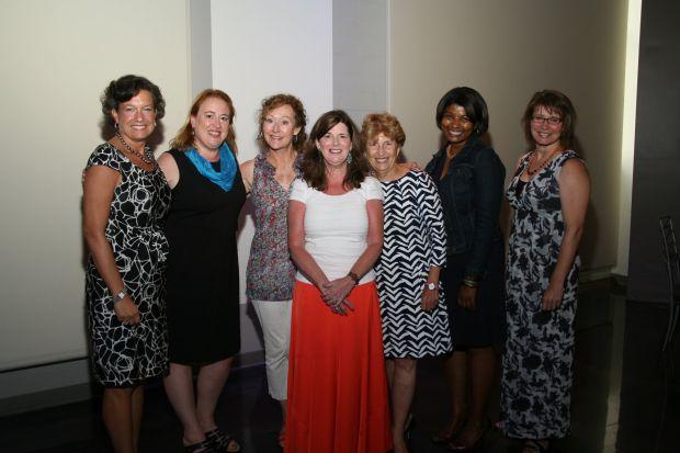 Linda Finerty, Lisa Greening, Jeanne Crawford, Diane Sinclair, Suzie Nall, Miriam Chapman, Nora Steele