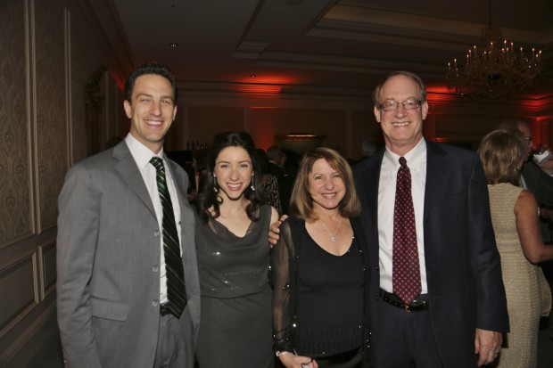 Rob and Anna Bertman, David and Rachel Eidelman