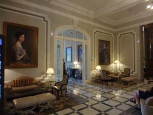 Lobby of Hotel Maria Cristina