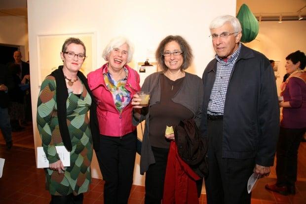 Marilu Knode, Josephine Weil, Jessica Stockholder, Rich Weil