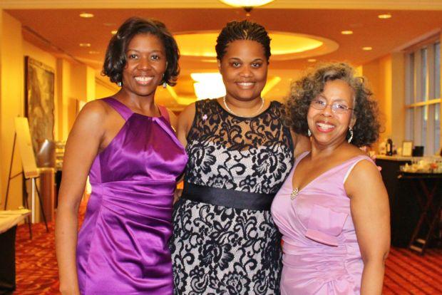 Marshala Bernaugh, Shannaya McFarland, Patricia Florian-Smith