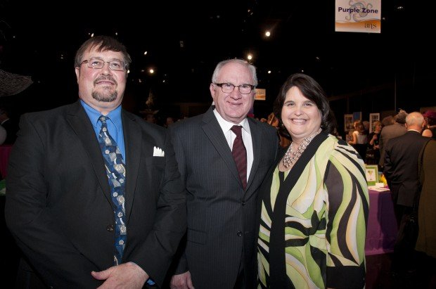 Michael Uptergrove, Mayor Bruce Geiger, Kate Uptergrove