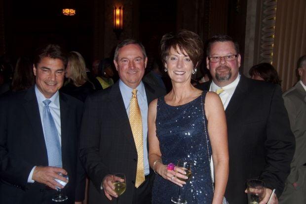 Rodney Bahr, Norm Eaker, Jenny and Karl Ritter