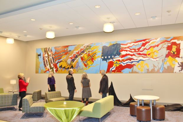 Regional Business Council Art Unveiling
