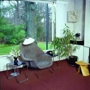 Gropius House living room